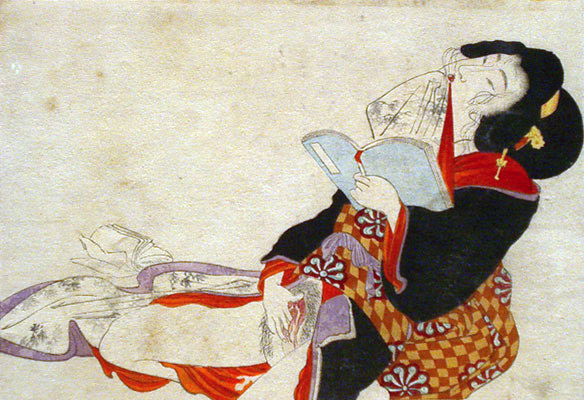 File:Shunga woman reading.jpg