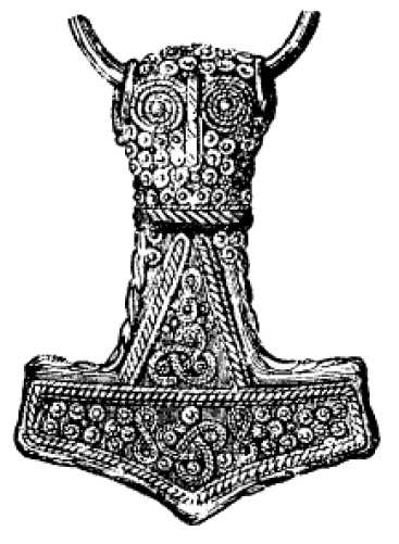 Mjolnir's Hammer in Mythology