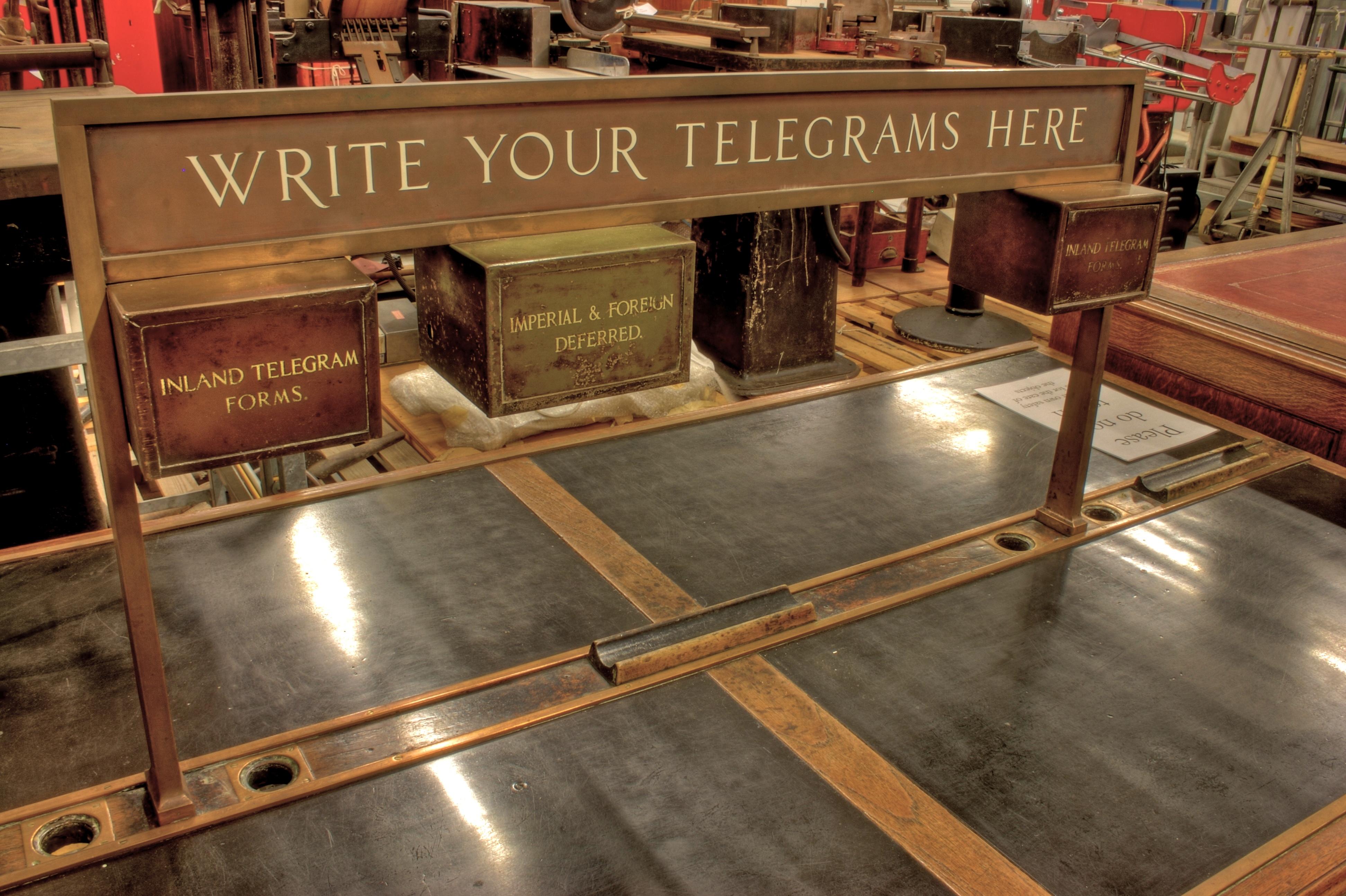 BLW Telegram Table (High Dynamic Range version)