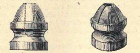 12 bore Paradox gun bullets, Hollow point (lef...