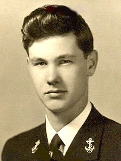 United States Navy portrait of Johnny Carson.