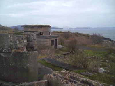File:Coastal Gun Site, Cramond Island - geograph.org.uk ...