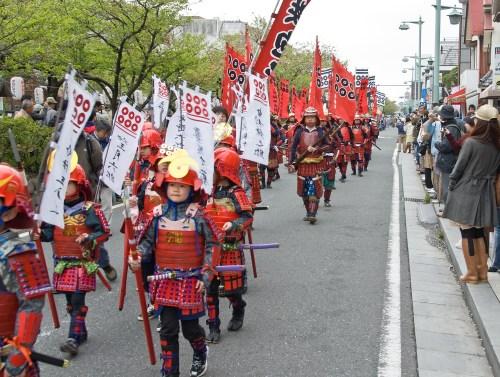 Mini-samurai-Kamakura Matsuri