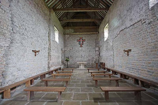 File:St Peter on the Wall, Bradwell juxta Mare, Essex - East end - geograph.org.uk - 965189.jpg