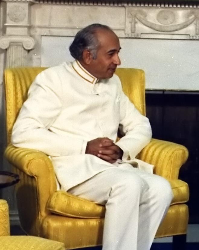 Ali Bhutto ayahanda Benazir Bhutto
