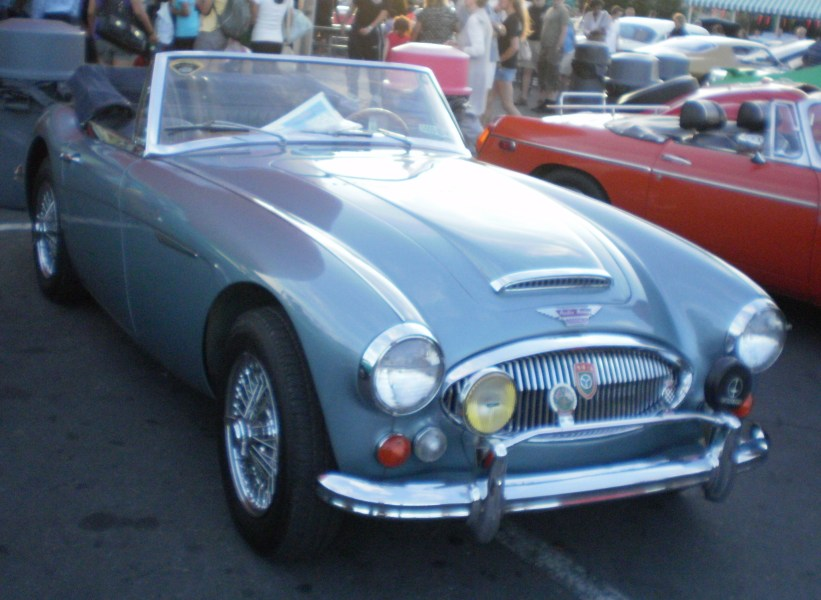 1964 studebaker cars » Austin Healey 3000   Wikipedia BJ8 sports convertible edit