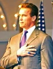 Cropped image of Arnold Schwarzenegger.