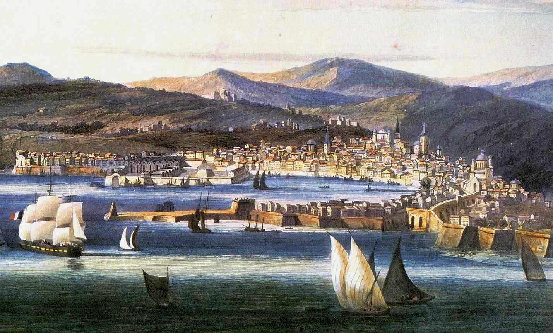Veduta di Genova - 1810 circa (particolare sul...