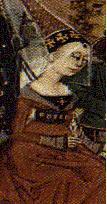 English: Isabella of France, wife of Edward II...