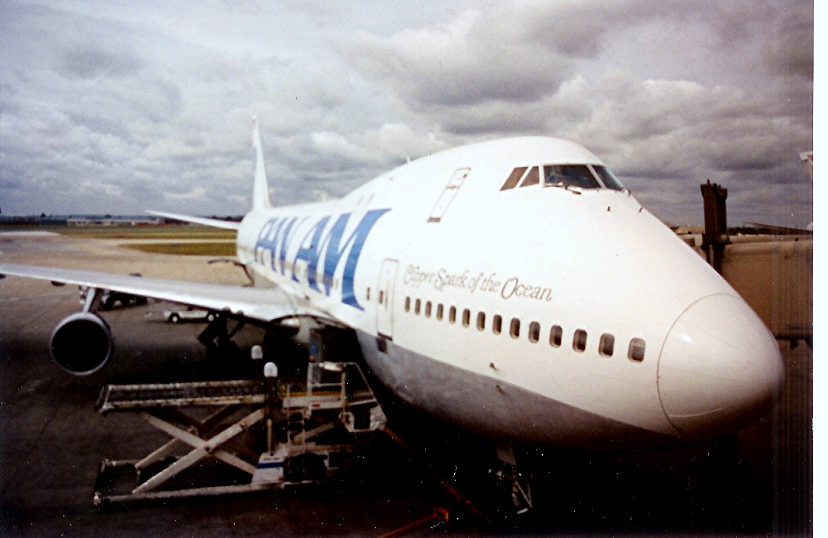 Pan Am 747-121. Most of its parts have been re...
