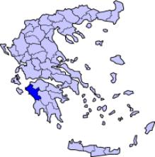 Αποτέλεσμα εικόνας για νομος ηλειας χαρτης