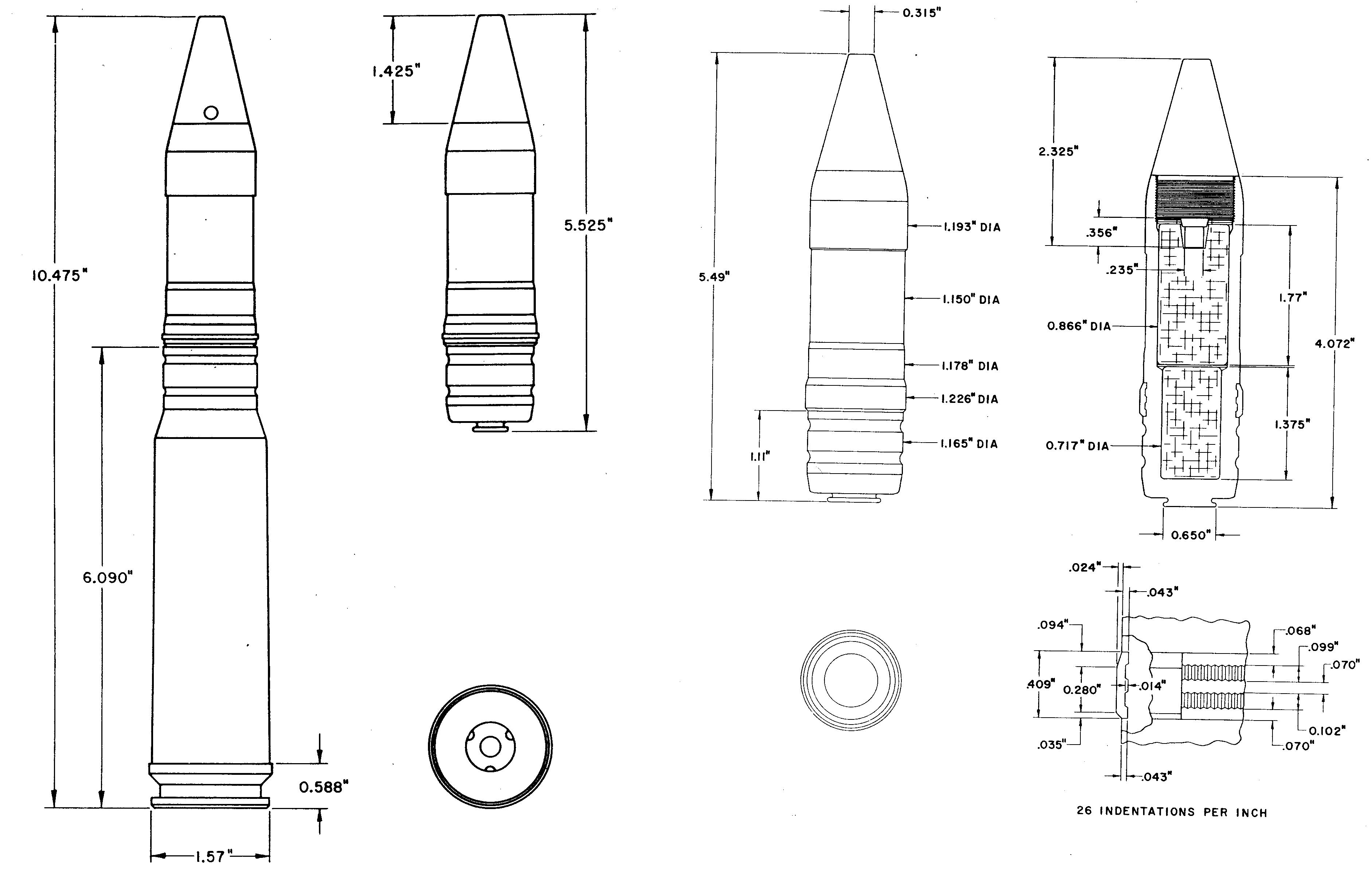 30 Mm Cannon Round
