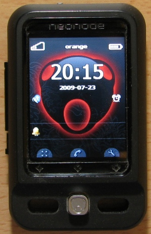 A picture of the Neonode N2 mobile phone and more Android Phones.