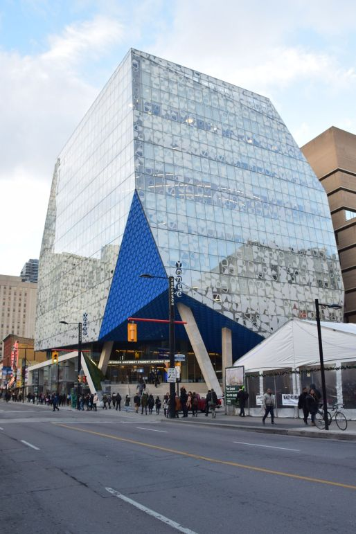 Ryerson University Student Learning Centre. Photo: Secondarywaltz via Wikimedia Commons.