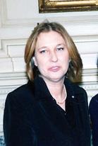 Israeli Foreign Minister Tzipi Livni.