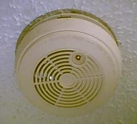 A residential smoke detector is the most famil...