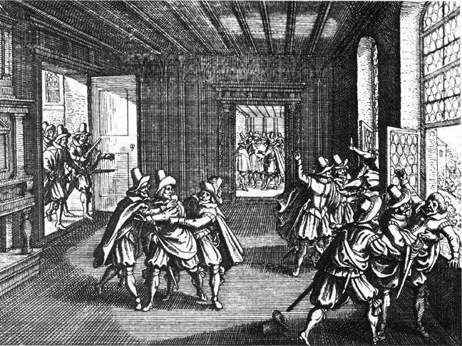 Second Defenestration of Prague, contemporary ...