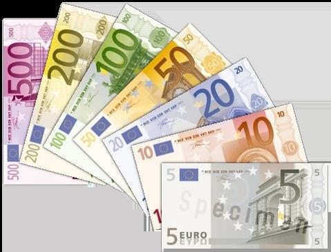 Eurozone banknotes