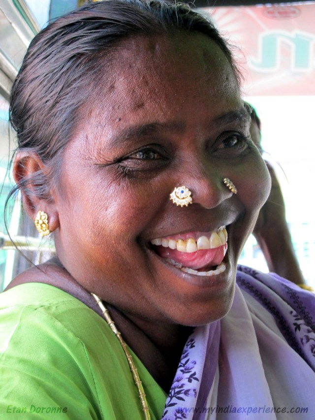 Filenose Double Piercing Both Women Nostrils Desi Indian Girl Tamilnadu Traditional Village Dress Jpg Photo Tamil Feature Story Etan Doronne