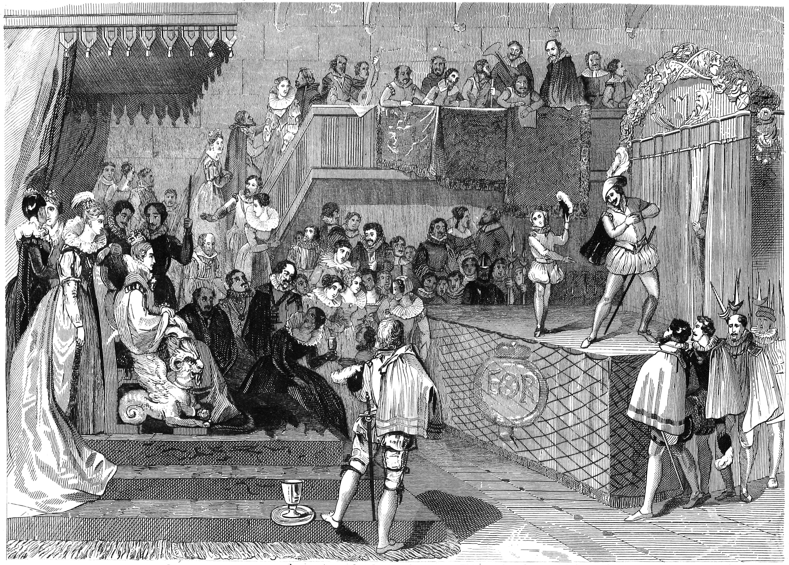 File Shakspeare Performing Before Queen Elizabeth And Her