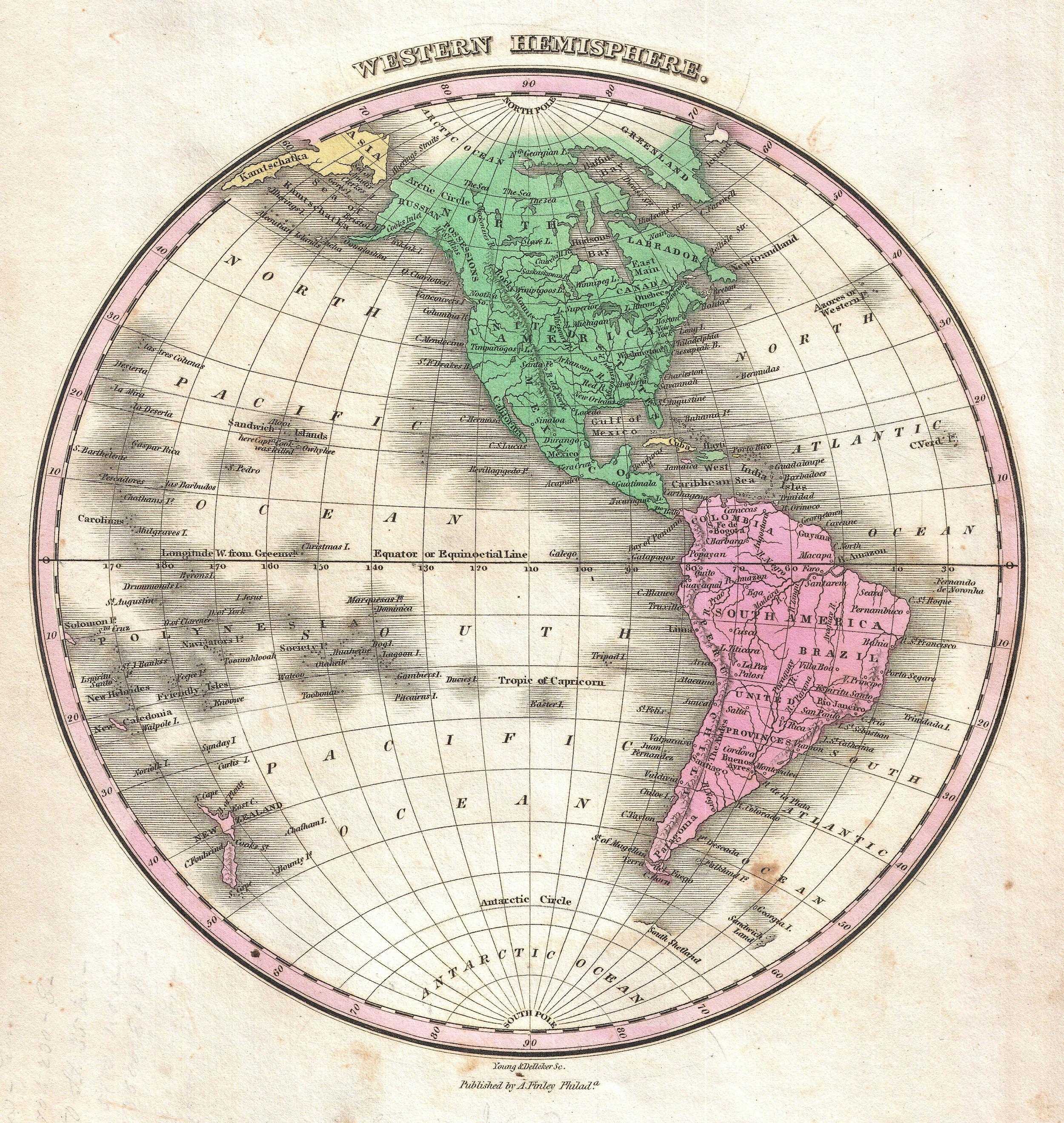 File Finley Map Of The Western Hemisphere North