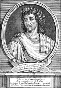 El escritor Cyrano de Bergerac