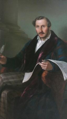 Gaetano Donizetti (portrait by Giuseppe Rillosi)