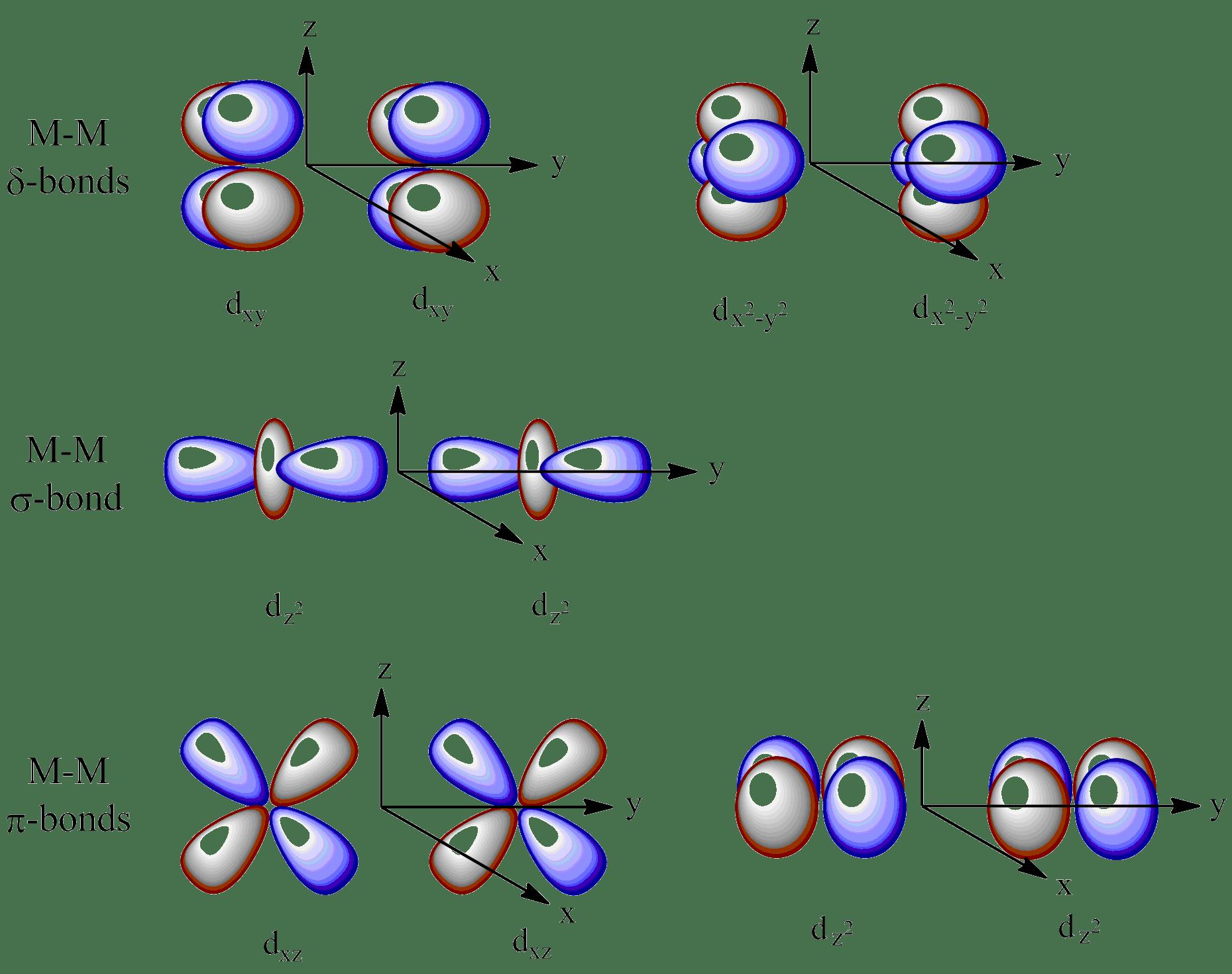 File Quintuple Bond Orbital Diagram