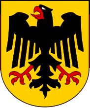 Bundesschild Deutschland