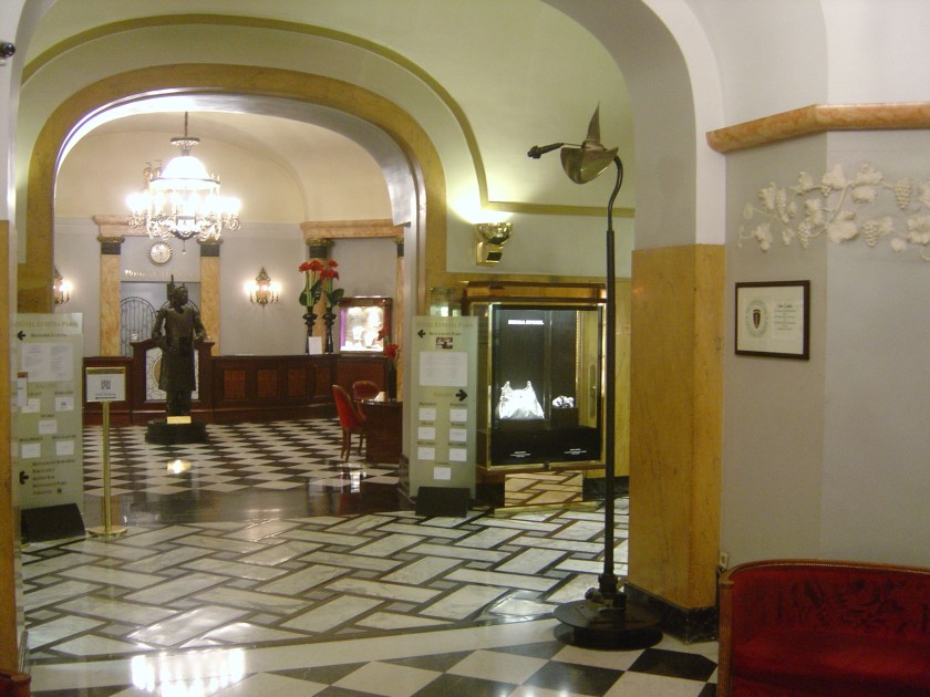 Hotel Lutetia Lobby, Paris