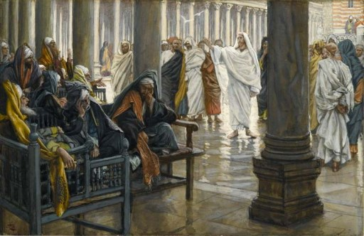 Brooklyn Museum - Woe unto You, Scribes and Pharisees (Malheur à vous, scribes et pharisiens) - James Tissot
