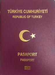 English: Biometric passport of Republic of Tur...