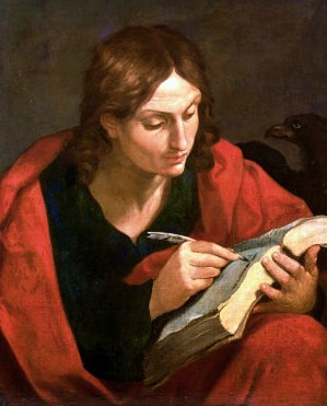English: St John the evangelist