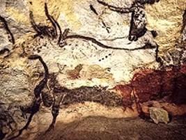 English: Lascaux Caves - Prehistoric Paintings...