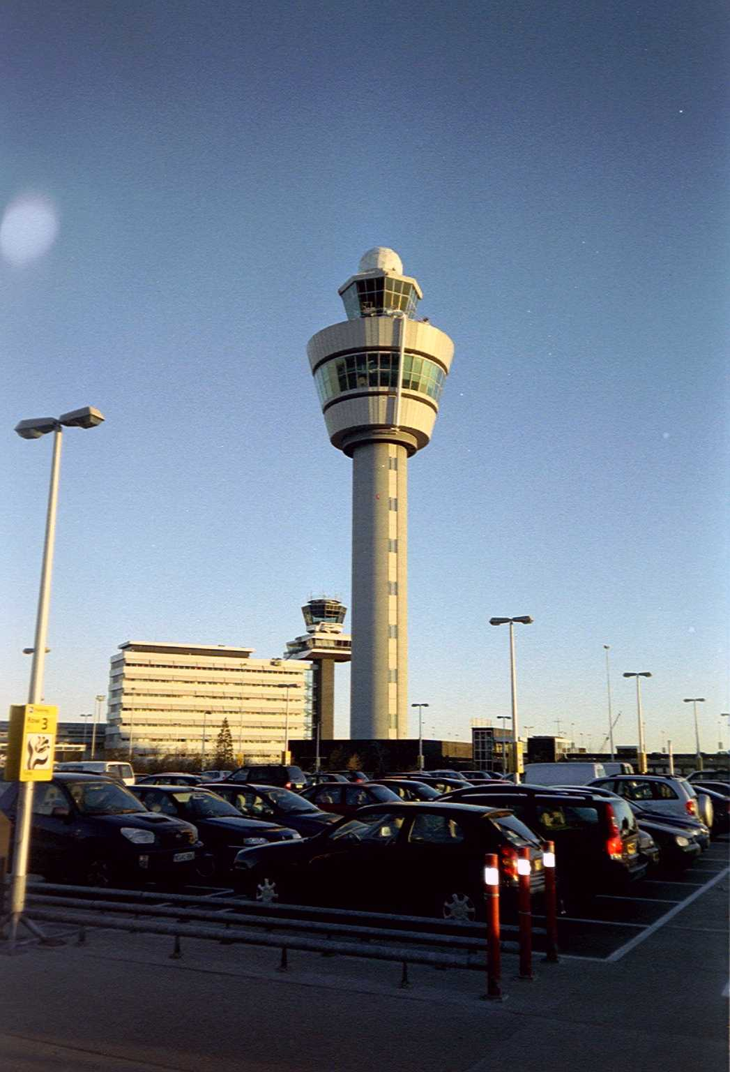 Torre de control de Amsterdam