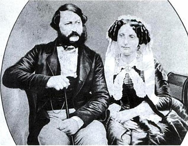 File:Augusto de Saxe-Coburgo-Gotha e Clementina de Orléans.jpg
