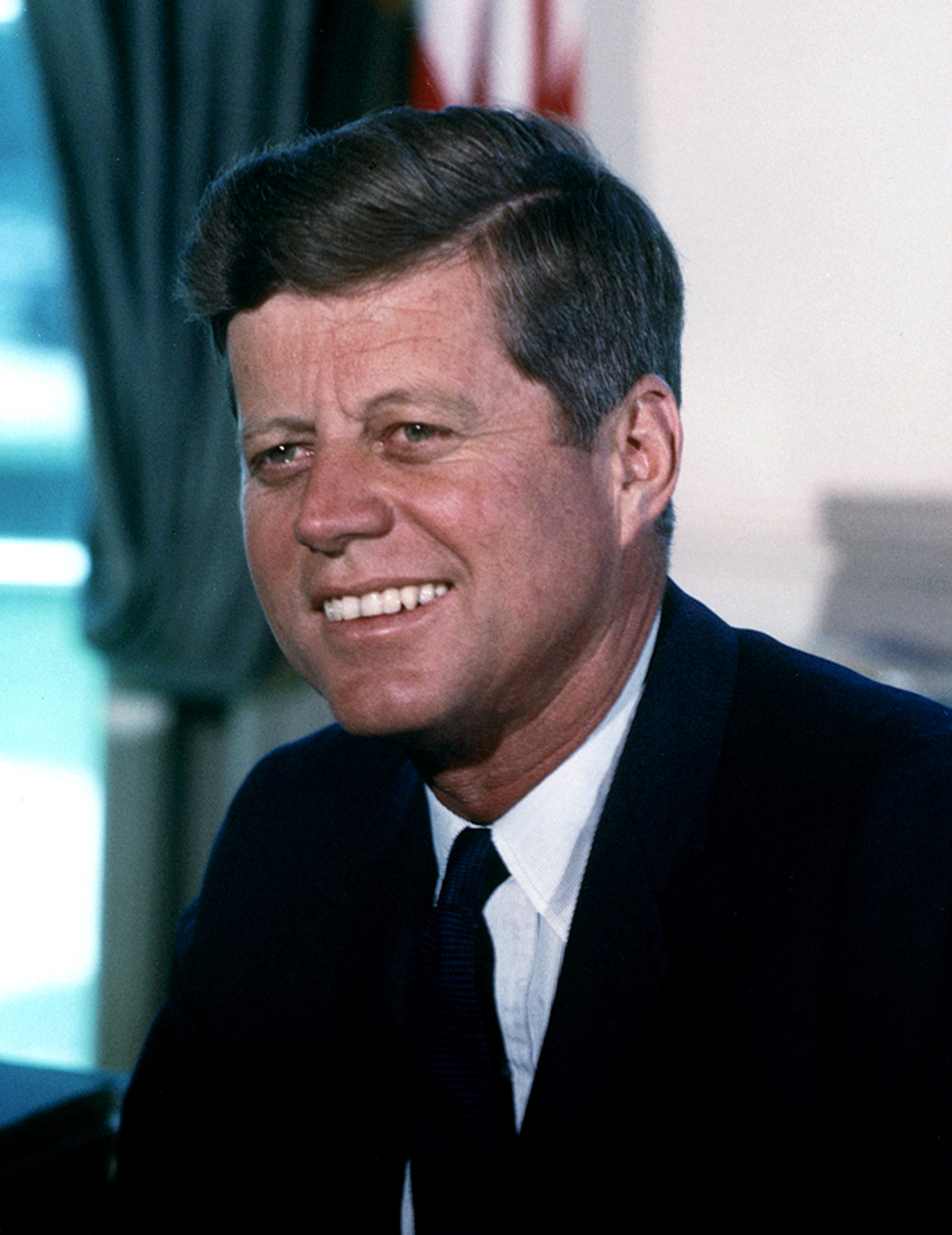 President John F. Kennedy, 1963