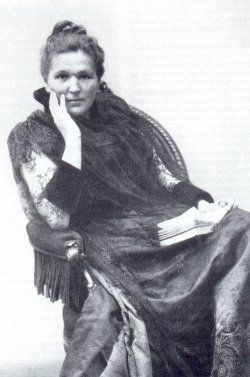 English: The Austrian feminist Marie Lang, 185...