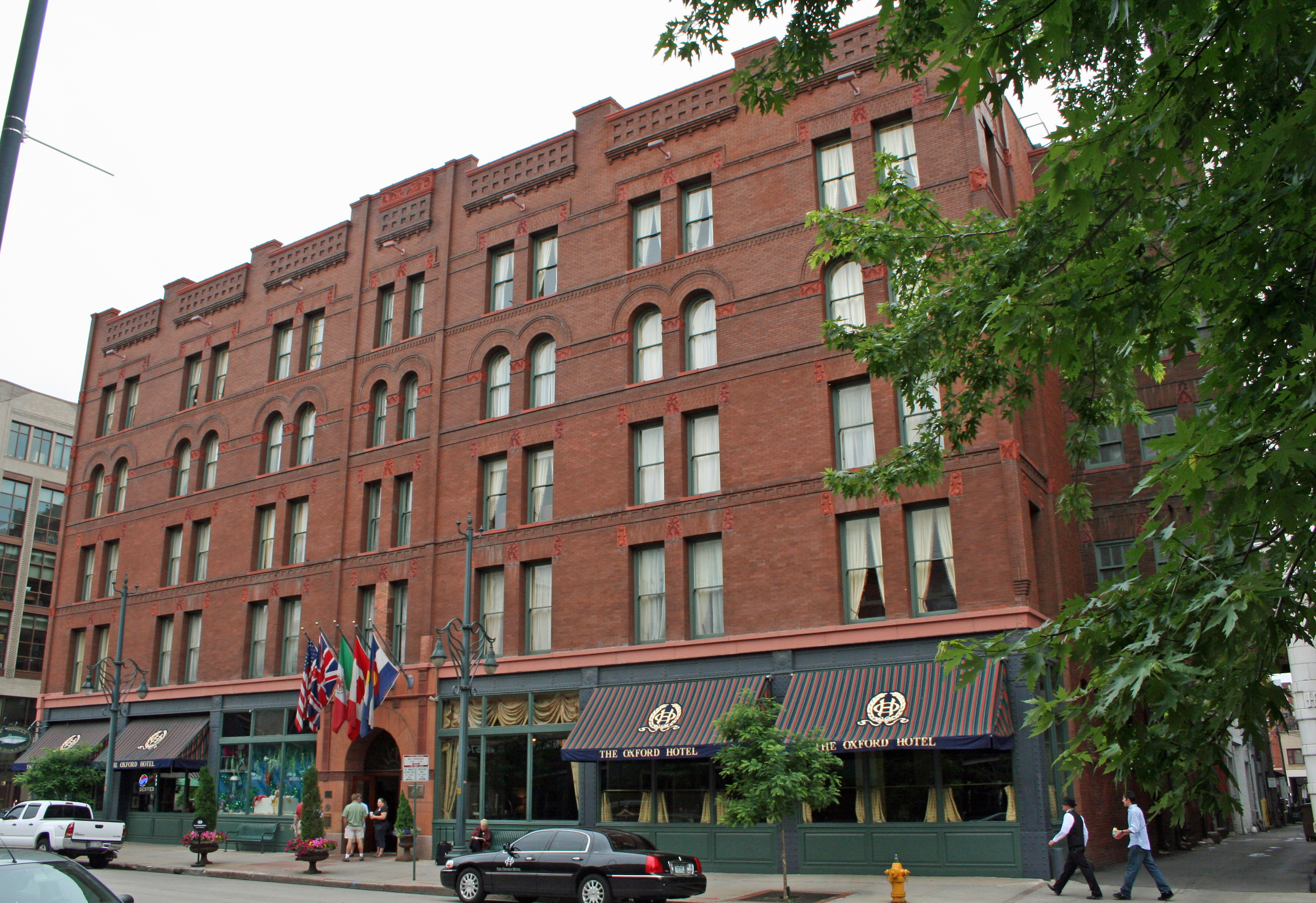 The Oxford Hotel, located at 1612 17th Street ...