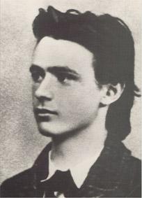 Rudolf Steiner als Maturand