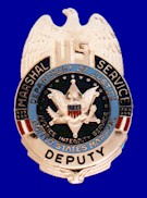 United States Marshals Service Badge used betw...