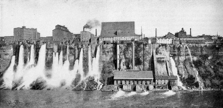 Usina hidrelétrica de Niágara Falls