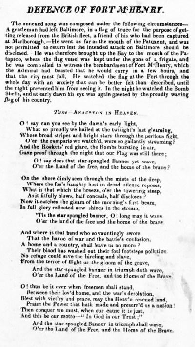 The Star-Spangled Banner – Wikipédia, a enciclopédia livre