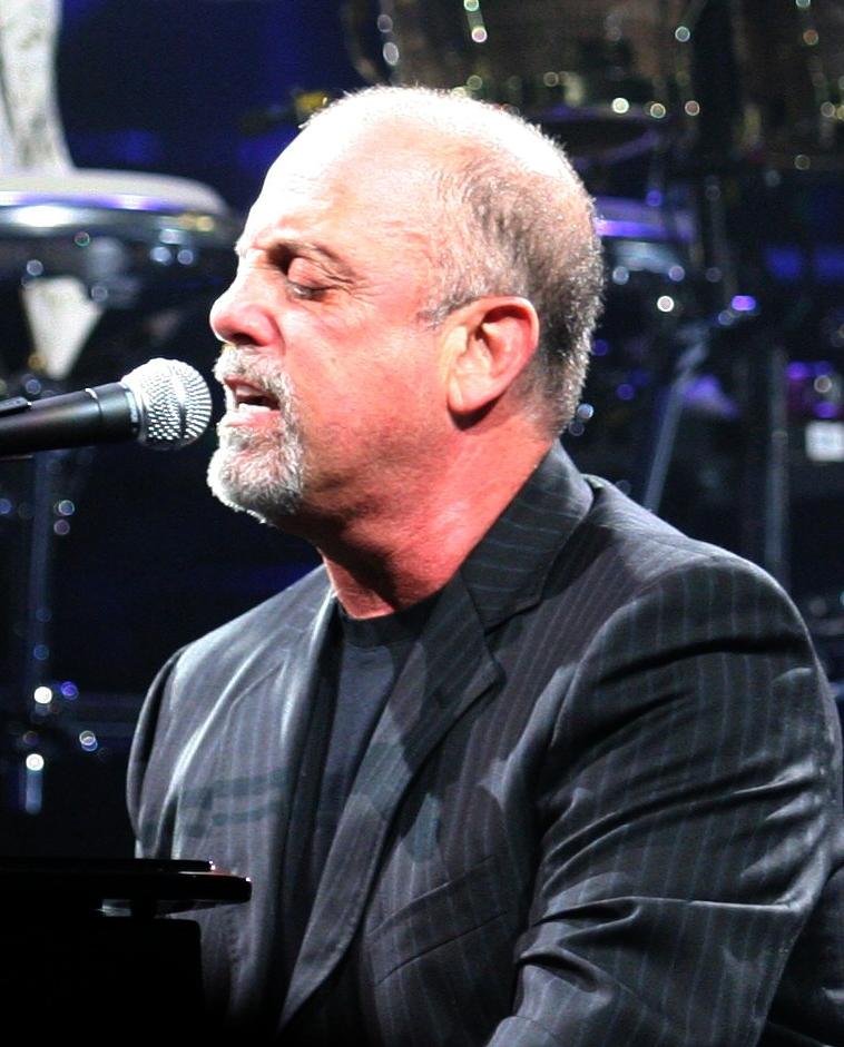 Billy Joel performing in Jacksonville, Florida...