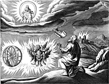 Ezekiel's Vision // larryhuntbiblecommentary.wordpress.com
