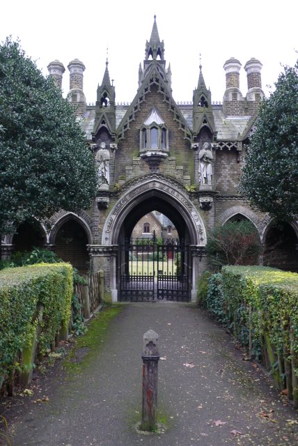 File Holly Village Highgate London Geograph Org Uk