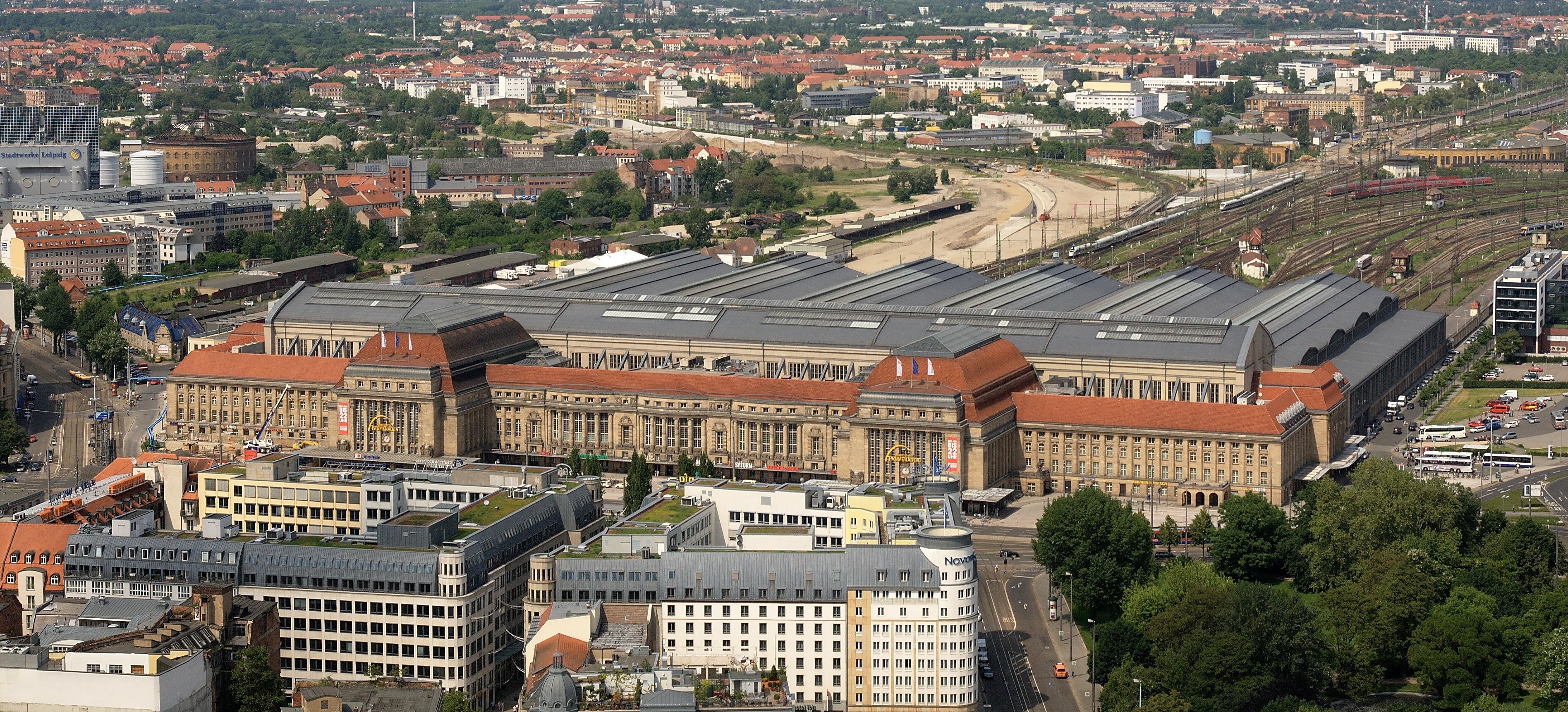 La Gare Centrale de Leipzig