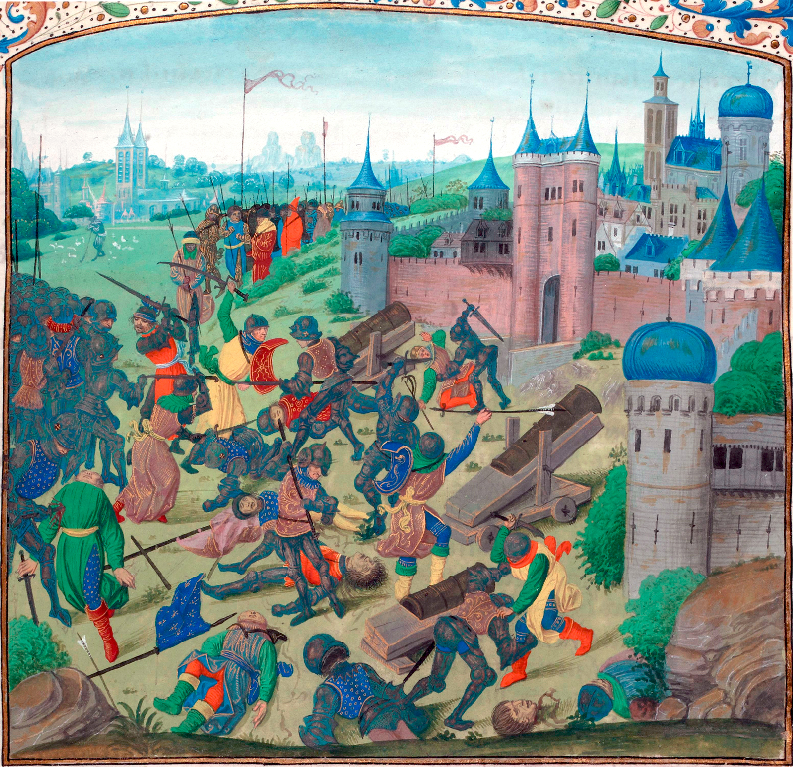 File:Nicopol final battle 1398.jpg