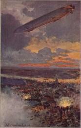 Zeppelin bombing Antwerpen