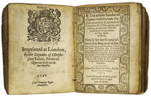 The 1596 Book of Common Prayer